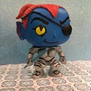 DIY Pop Vinyl - Undyne From Undertale