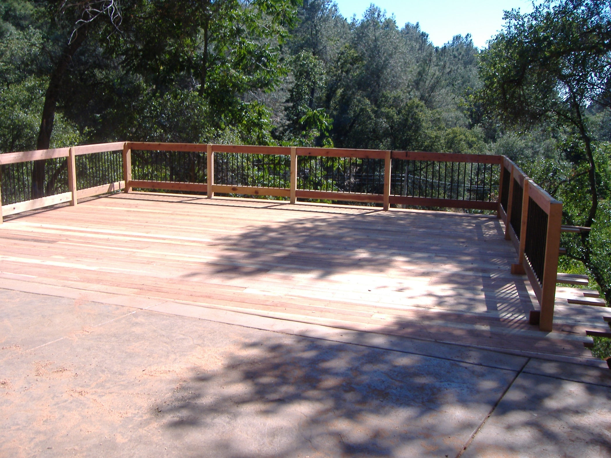 How To Build A Deck Over Concrete