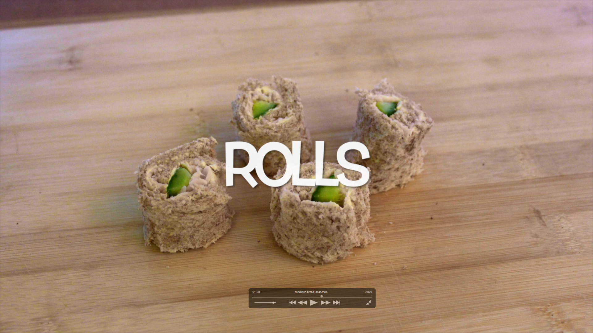 Picture of Make Sandwich Rolls or Sushi!