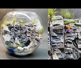 White Hill Diorama | Terrarium | Rock Climbing