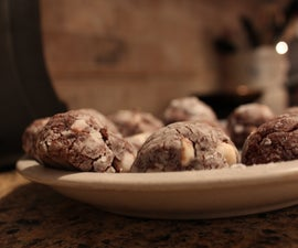 Double Chocolate Crackles