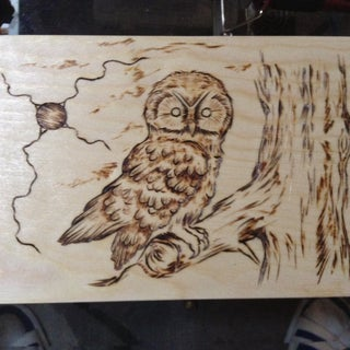 Woodburning (Pyrography) With a Soldering Iron