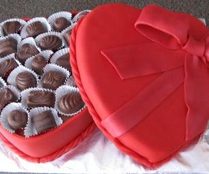 Valentine's Chocolate Box Cake