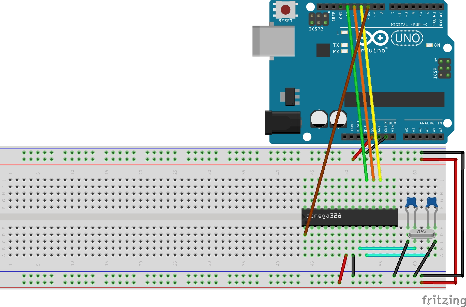 Picture of Burning Arduino Bootloader Into Atmega328P