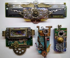 Jewelry From Scrap and E-Waste