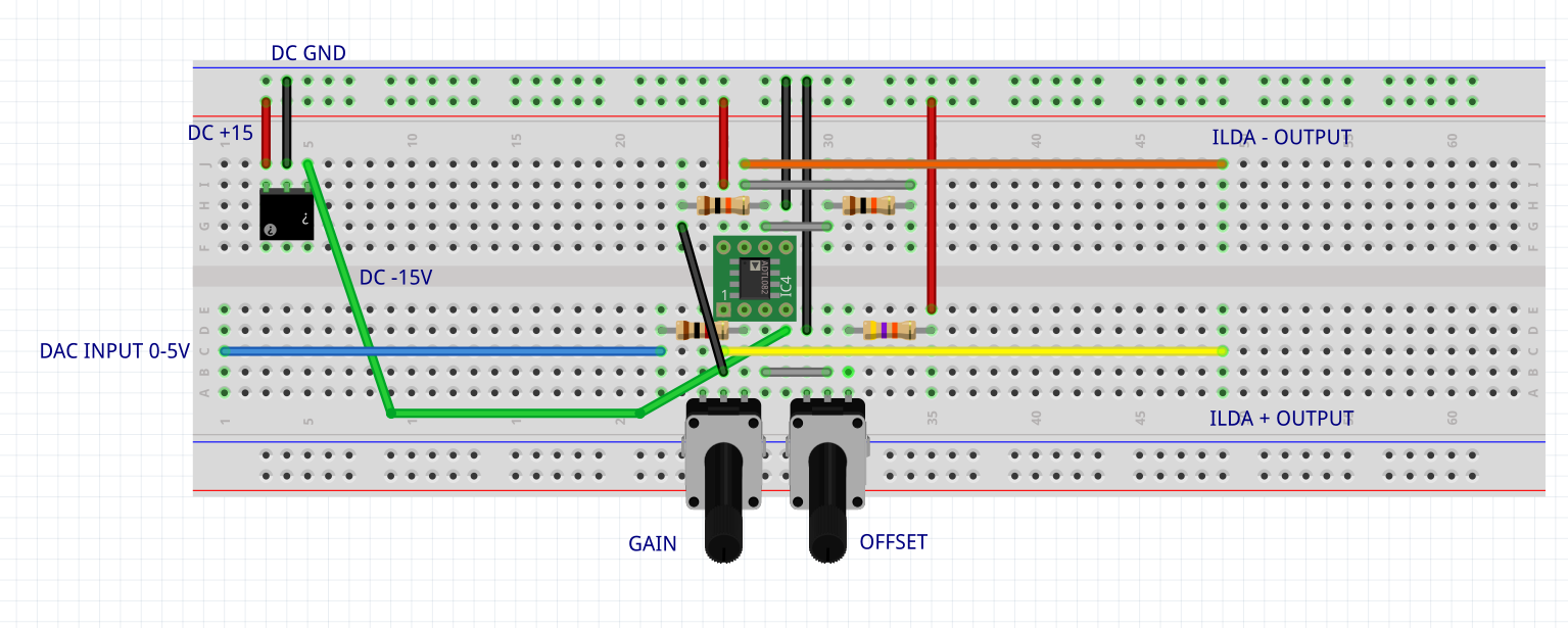 Picture of Bipolar Signal With Opamps