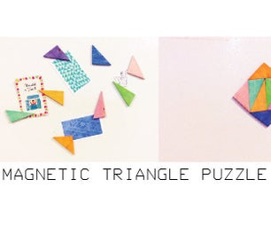 Magnetic Triangle Puzzle Set