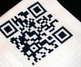 CNC Embroidery: QR Code