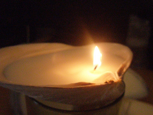 Picture of How to Make Shell Candles