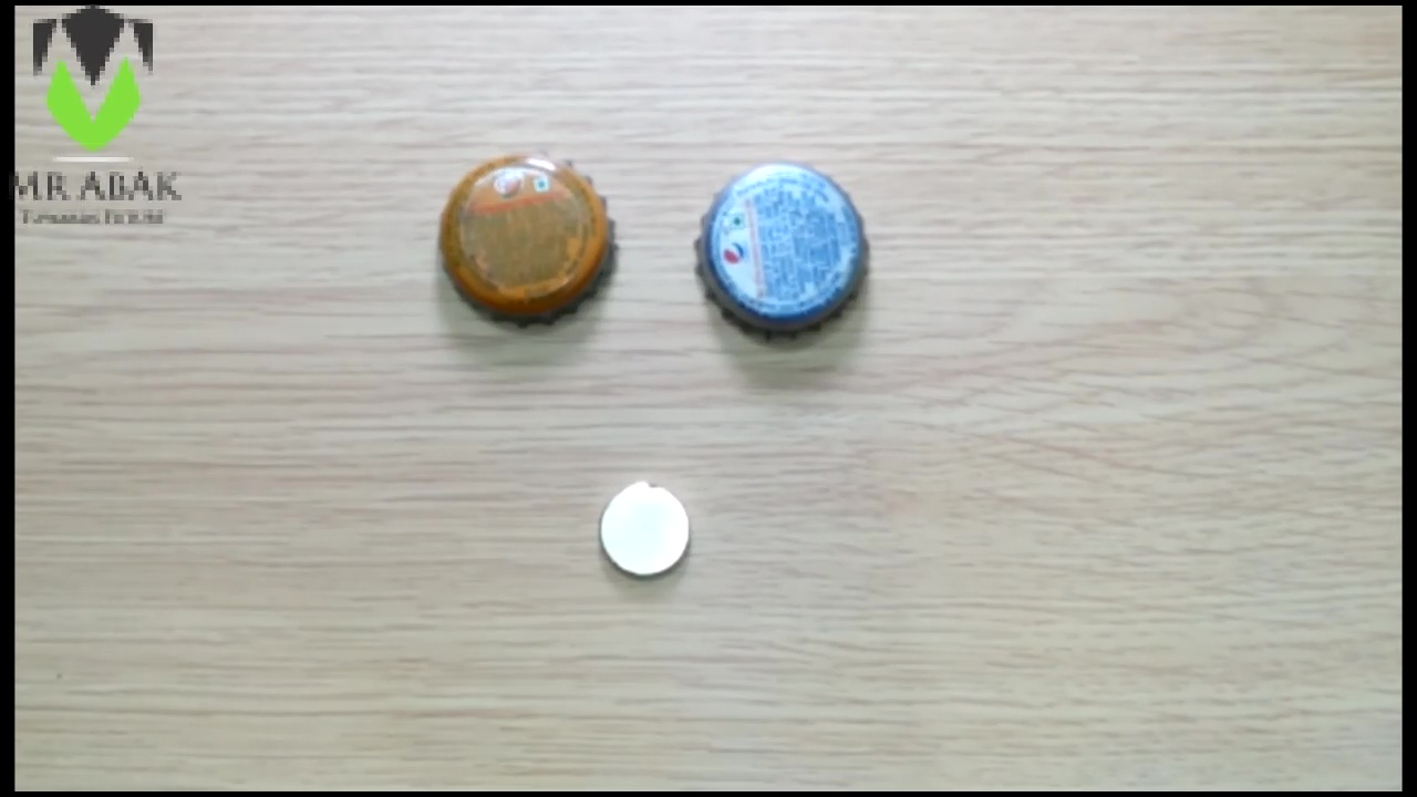 Picture of Bottle Cap Fridge Magnets : Materials Required