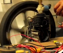 Two Stroke engine HACK to a powerful Steam Engine
