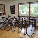 Indoor Bike Parking Rack