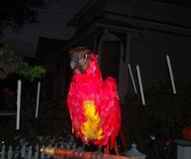 Animatronic Fawkes the Phoenix