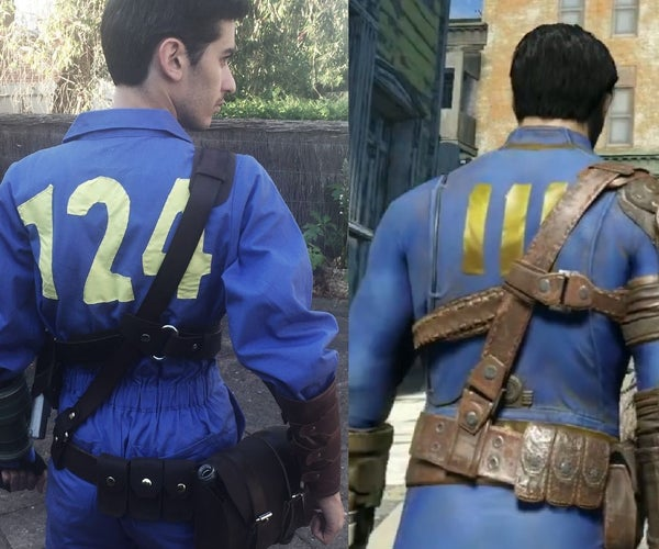 How to Make a Fallout 4 Costume - Leather Belt Set (w/o Shoulder Guards)