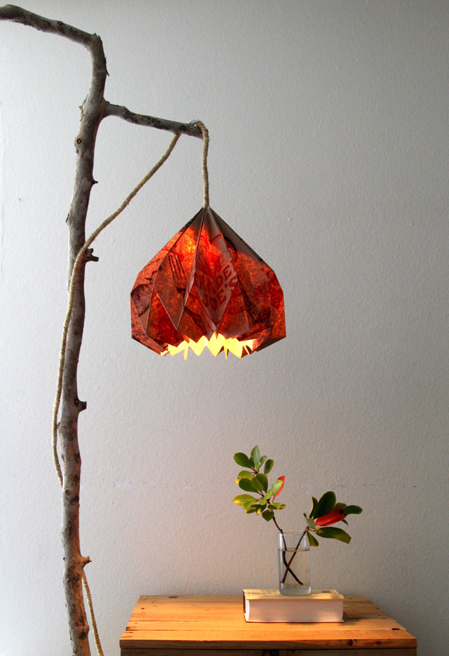Picture of Grocery Bag Pendant Lamp