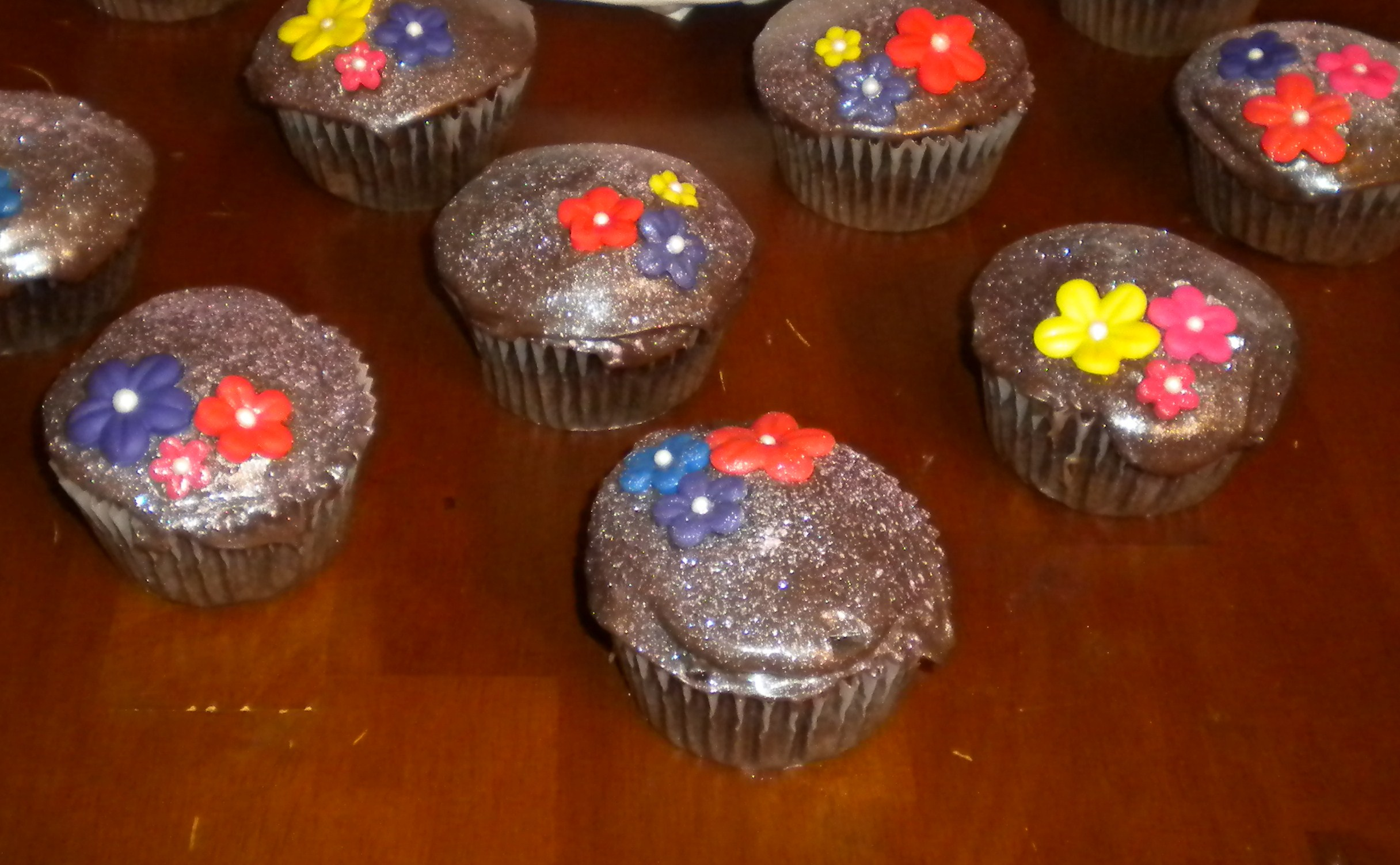 Picture of Sparkling Cupcakes