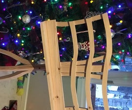 Music Stand From a Single 8 Foot 2x4
