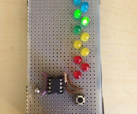 Led Ladder Game (Attiny85)