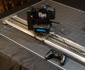 3ft DIY Actobotics Slider for EMotimo Spectrum:  Part III