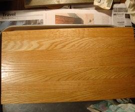 How to make a butcherblock cutting board