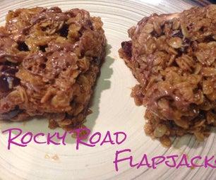 Rocky Road Flapjacks