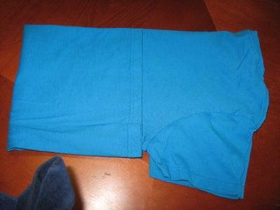 Step 2:  Cutting the Tshirts