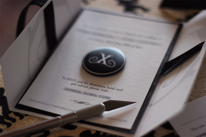 Picture of Make Your Own Wedding Invites for Under £100