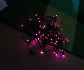 Battery Powered LED Christmas Lights