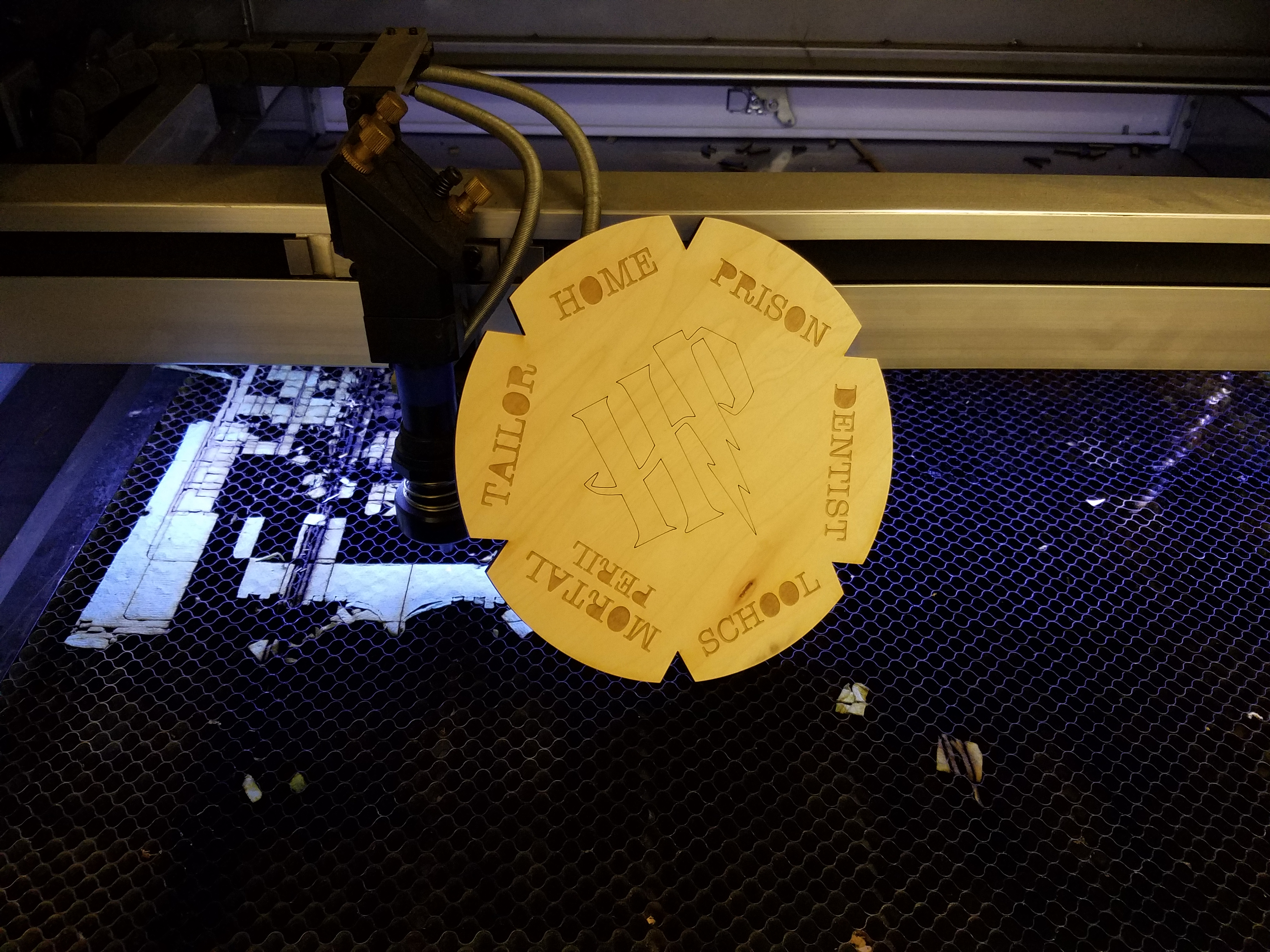 Picture of Laser Cut and Prepare the Clock Body