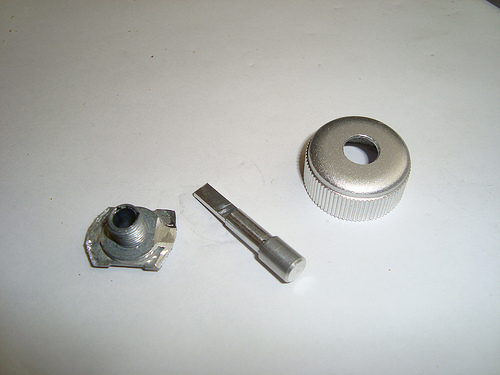 Picture of Fit the Potentiometer to Your Dustcap