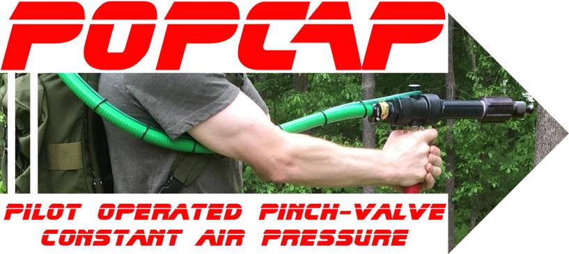 Picture of POPCAP Powerful, Long Range Water Gun / Blaster / Soaker