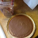 Easy No-Bake, silky Chocolate Pie (delicious!)