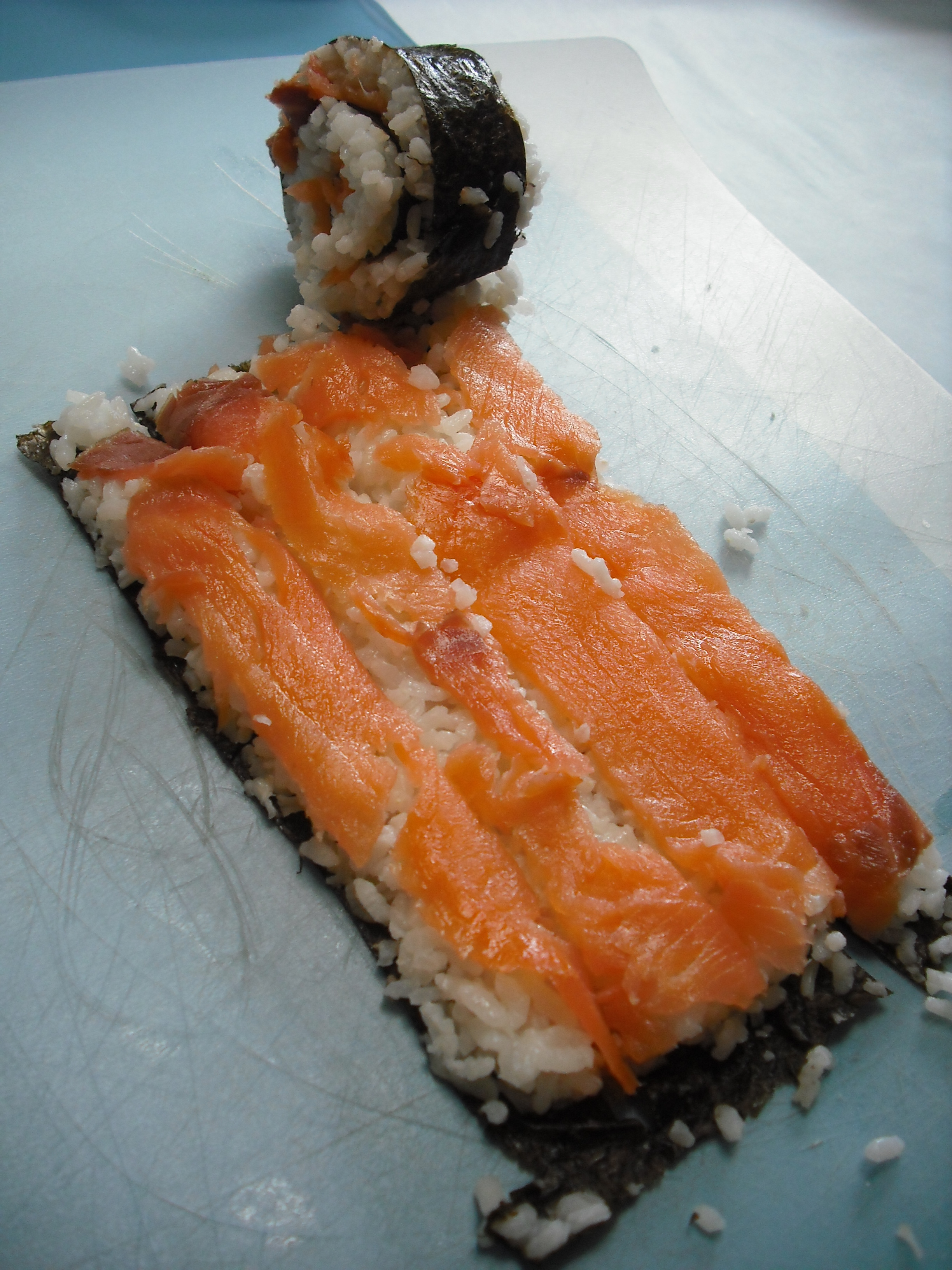 Picture of Third Method: Sushi Spiral