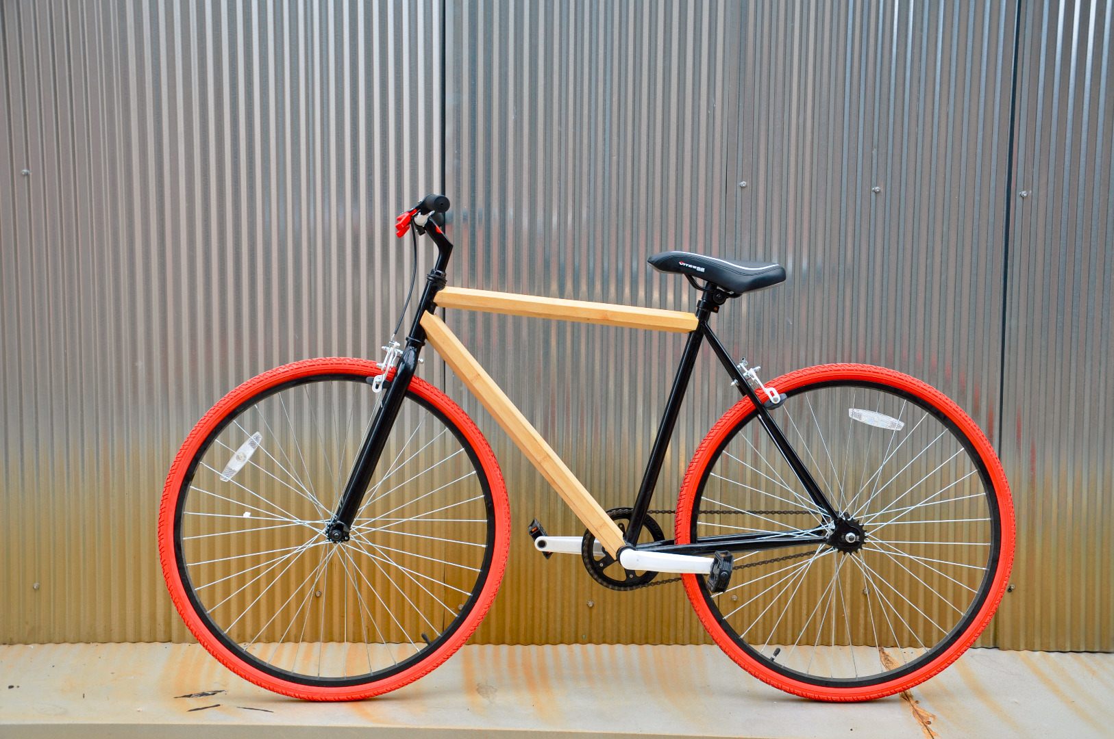 Picture of Walmart Hack Bamboo Bike