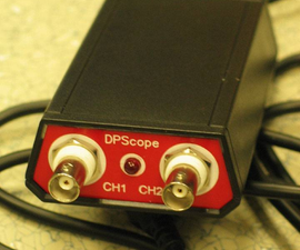 DPScope - Build Your Own USB/PC-Based Oscilloscope