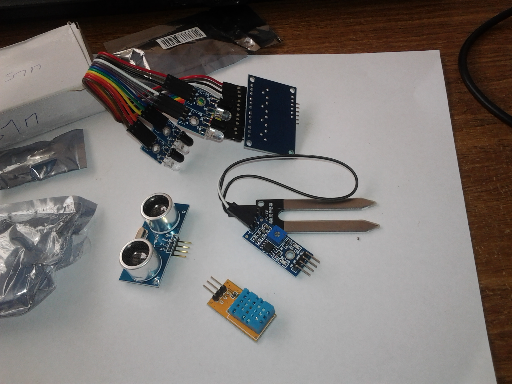 Picture of Gathering the Necessary Components