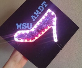 LED Graduation Hat