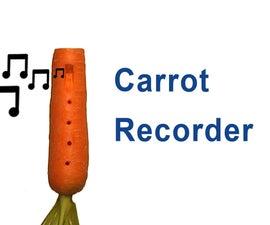 How to Make a Carrot Recorder Ocarina