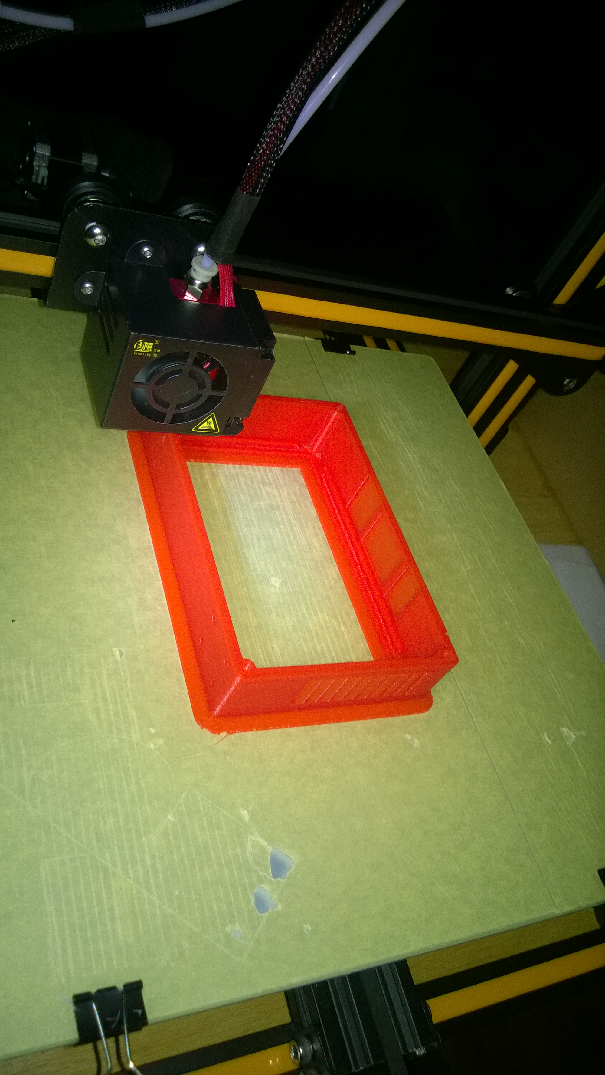Picture of Merging Elements and Printing the Solid LCD-Pi Case