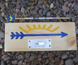 How to Make an Arrow of Light Award