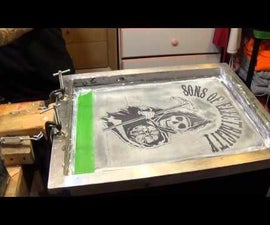 Silk Screen on T-Shirt