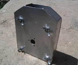 Angle Grinder Grain Mill