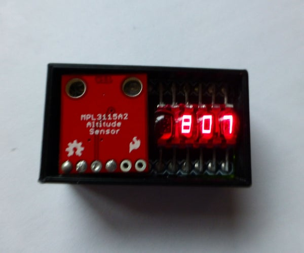 A Compact, Arduino Altimeter for RC Planes