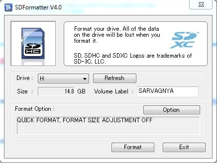 Picture of Prepare SD Card
