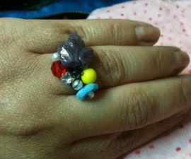 DIY free style ring