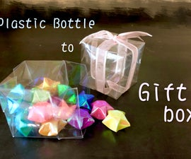 Easy Gift Box Out of a Water Bottle