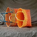 Make Baskets out of Repurposed Pallet Straps