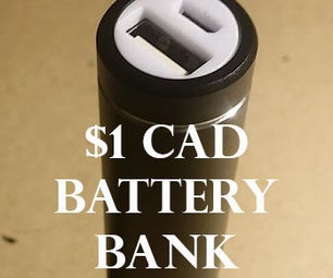 $1 USB BATTERY BANK FROM OLD LAPTOP CELLS