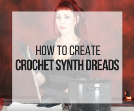 How to Make Crochet Synth Dreads