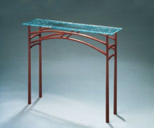 Making the Blue Gum Table